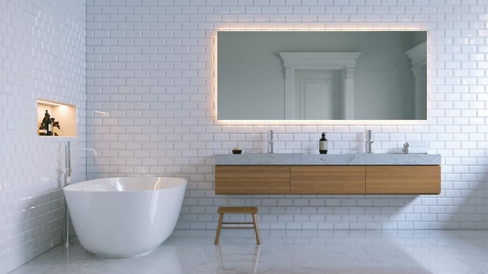 banner bathroom renovations tiling